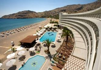 Lindos Bay Resort Spa Hotel Is A Wonderful Choice For Accommodation In Rhodes Rodos